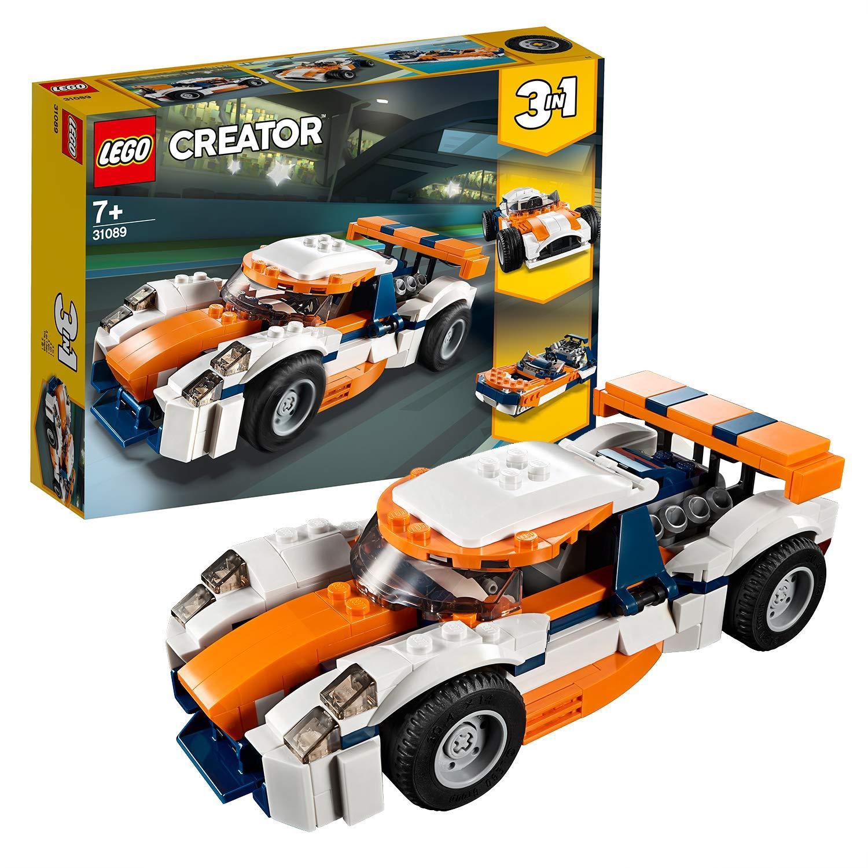 Đồ Chơi Lắp Ráp LEGO Tay Đua Vượt Hoàng Hôn 31089- Hàng chính hãng MYKINGDOM