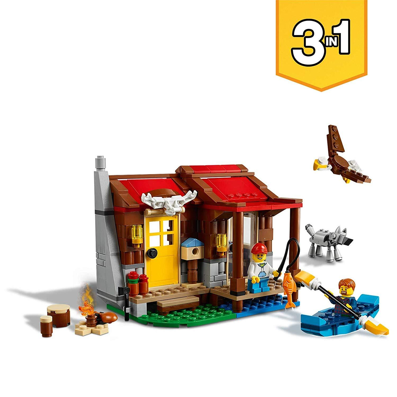 Nhà Gỗ Ven Hồ LEGO 31098- Hàng chính hãng MYKINGDOM