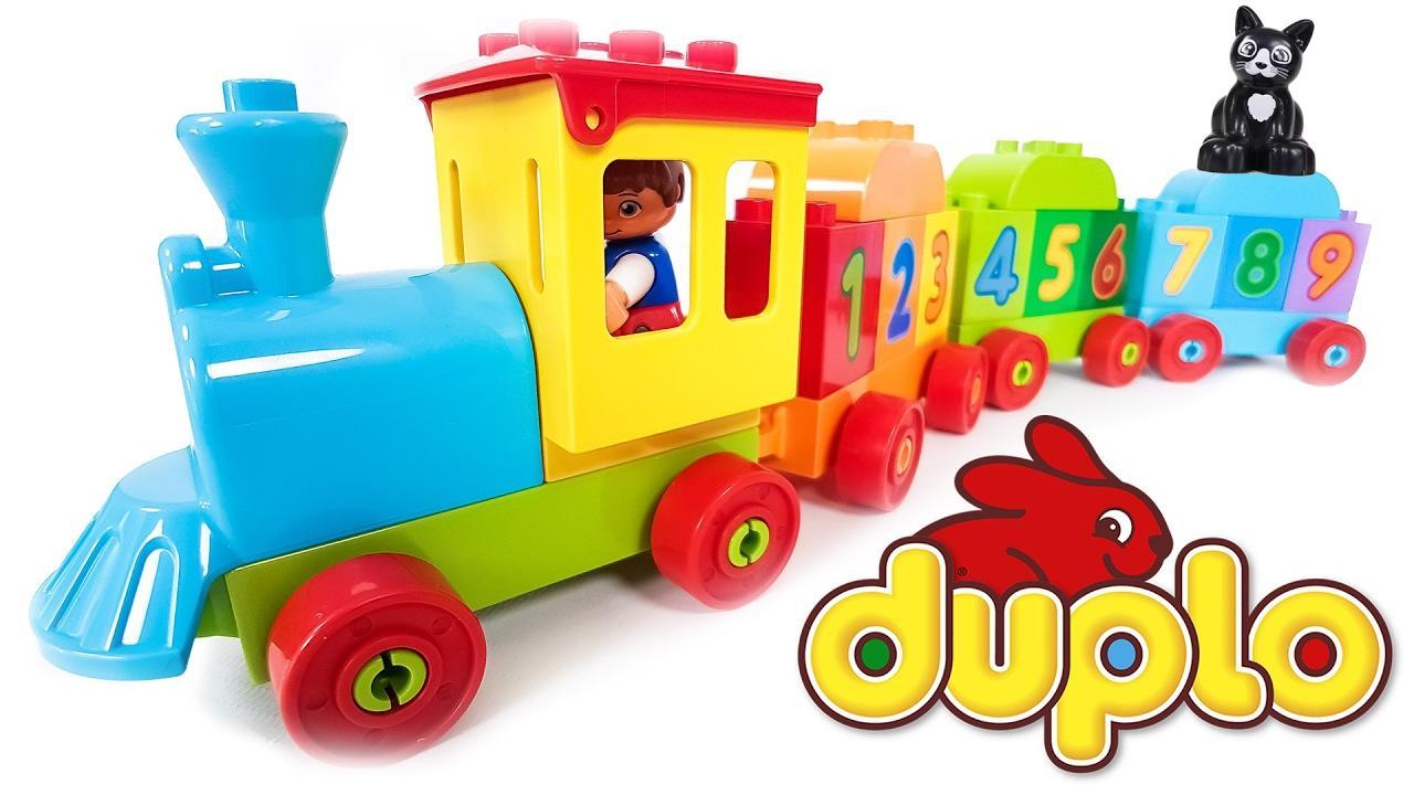Hộp LEGO Duplo Tàu Lửa Học Số Mới 10847 (23 chi tiết)- Hàng chính hãng MYKINGDOM
