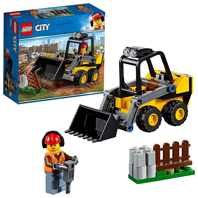 Xe Xúc Công Trình LEGO DUPLO 60219- Hàng chính hãng MYKINGDOM