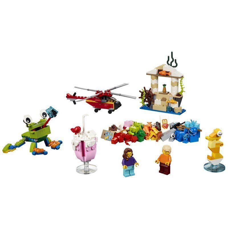 Thùng Gạch Thế Giới Vui Nhộn LEGO 10403 (295 chi tiết)- Hàng chính hãng MYKINGDOM
