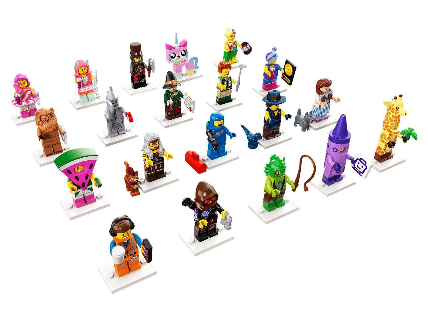 Đồ Chơi Xếp Hình LEGO Nhân Vật LEGO The Movie 2 71023- Hàng chính hãng MYKINGDOM