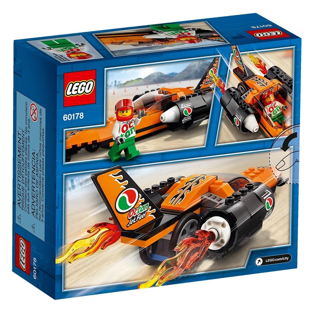Mô Hình Lắp Ráp Lego Xe Siêu Tốc Độ 60178- Hàng chính hãng MYKINGDOM