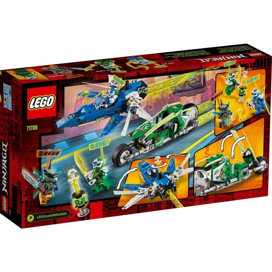 Mô Hình Lắp Ráp Ninjago Xe Đua Tốc Độ Của Jay Và Lloyd 71709- Hàng chính hãng MYKINGDOM