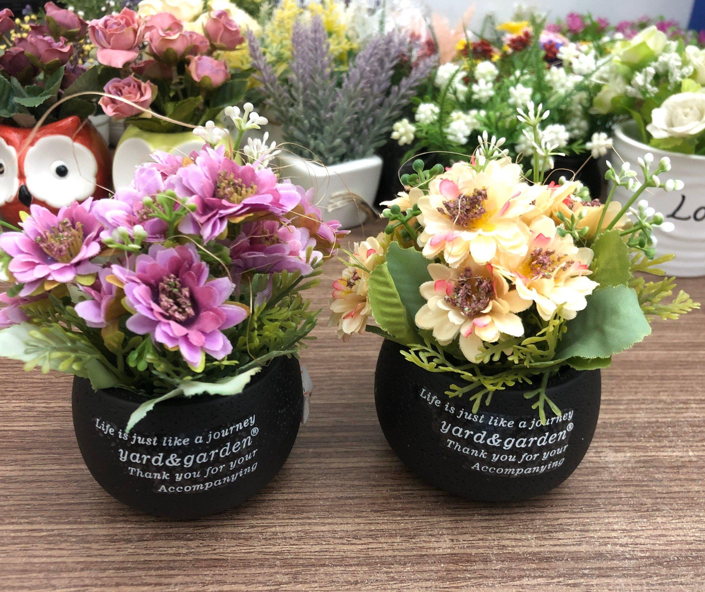 Chậu hoa để bàn yard & garden