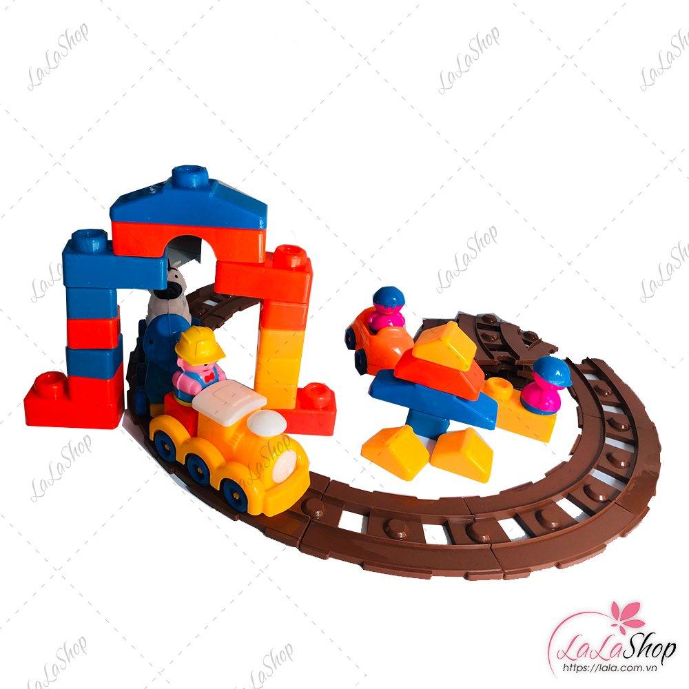 Đồ chơi xe lửa và đường ray(NCL)