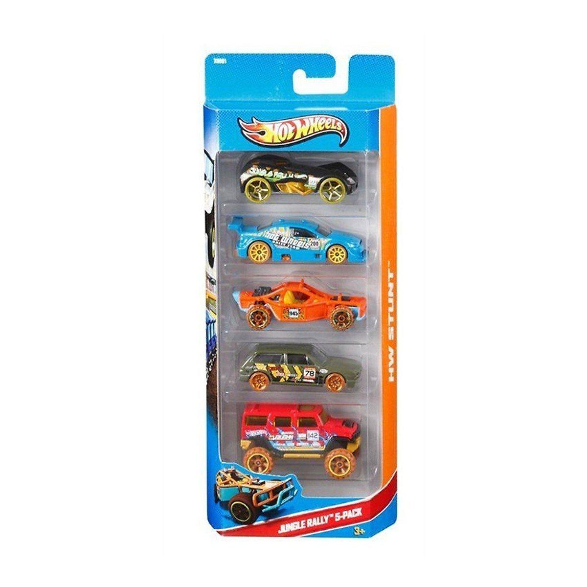 Bộ 5 xe cơ bản HOT WHEELS(TN)