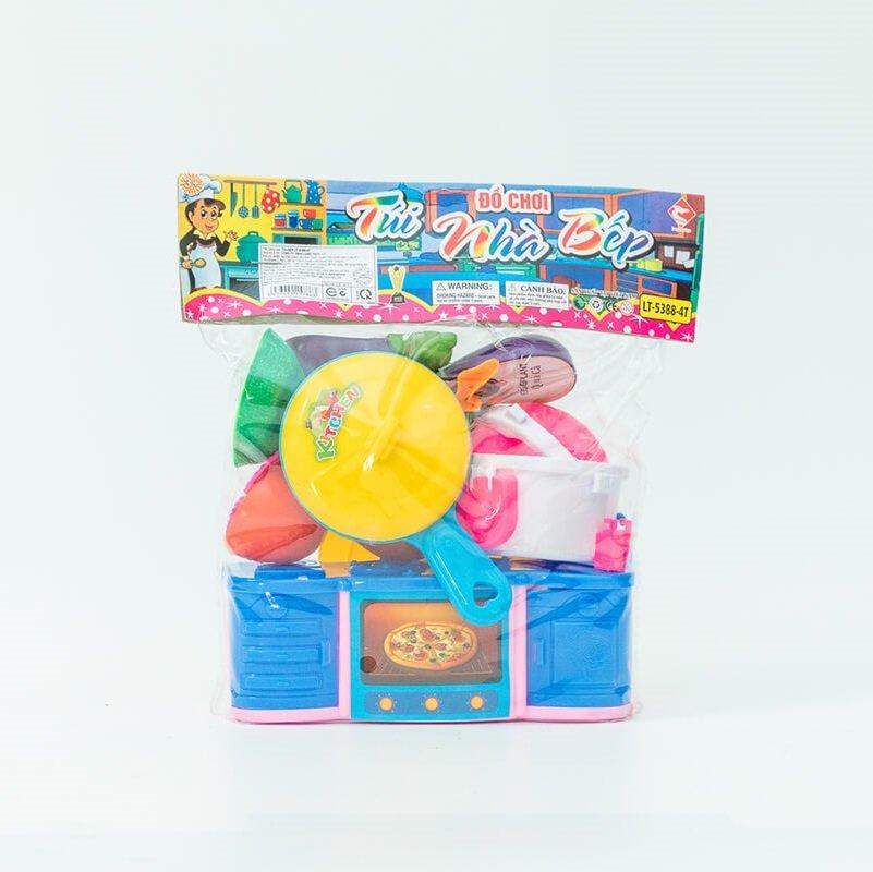 Túi đồ chơi nhà bếp LT5388-4T
