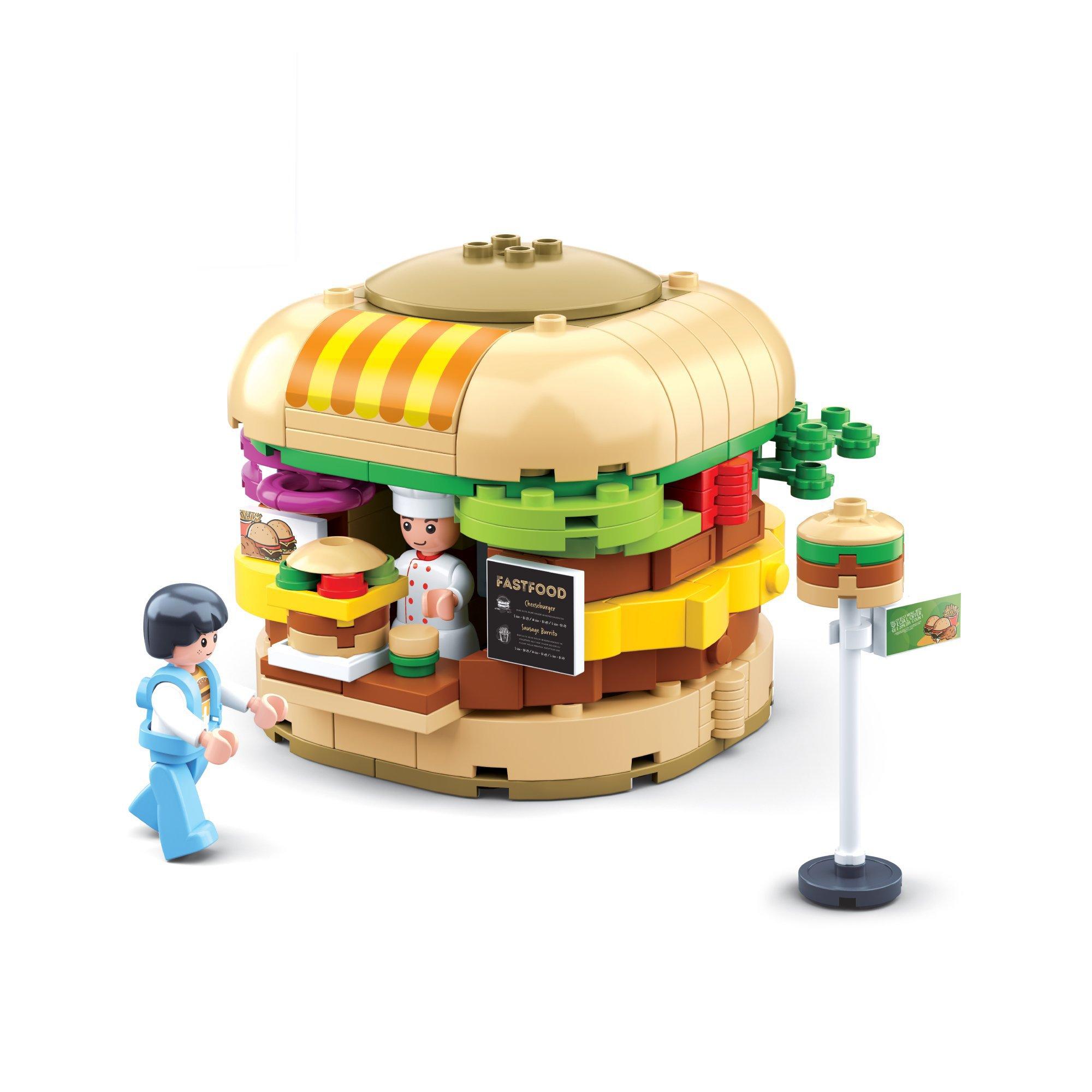 Đồ Chơi Lắp Ráp Quầy Hamburger TINITOY BRICK (276 pcs) (TN)