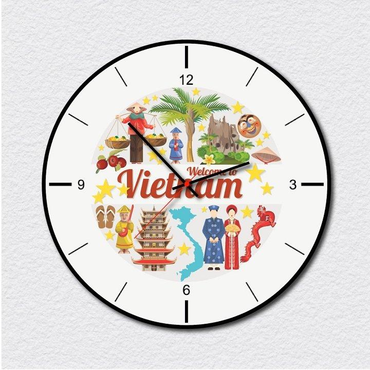 Đồng hồ vintage welcome to Viet Nam