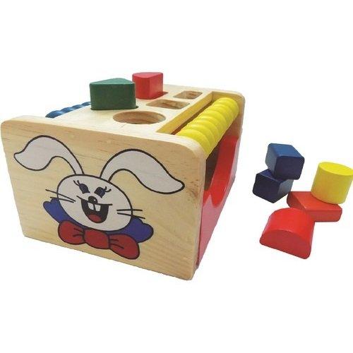 Đồ Chơi Hộp Thả Hình Con Thỏ Edugames - GA654(EDG)