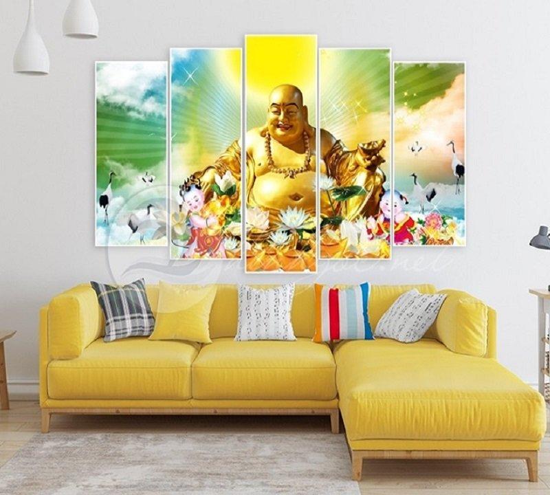 Tranh Treo Tường Phật Di Lặc