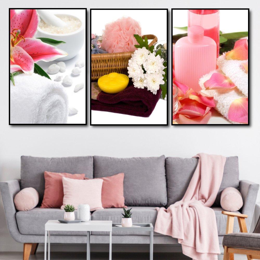 tranh treo tường spa hương hoa