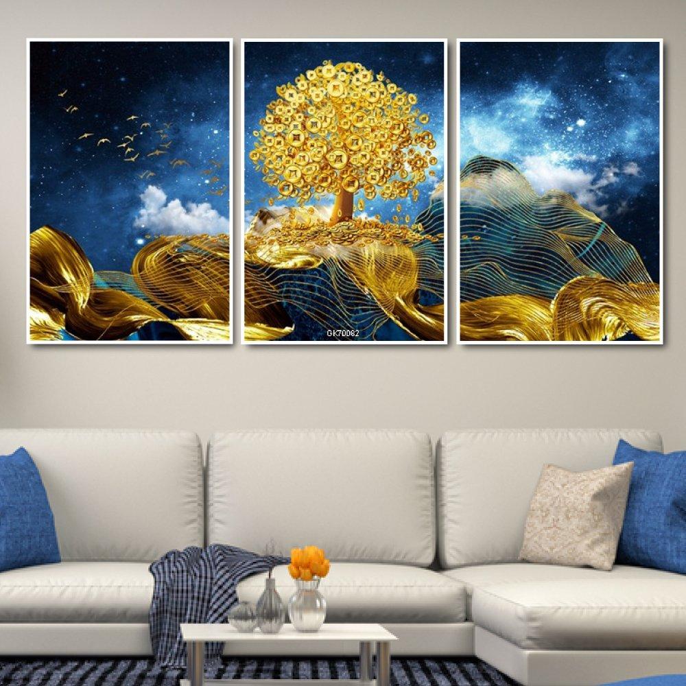 Tranh Canvas Treo Tường Cây Vàng Tài Lộc