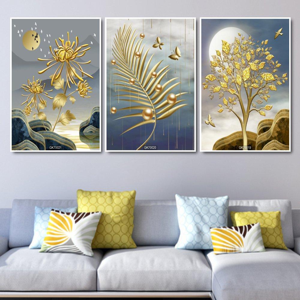 Tranh Canvas Treo Tường Hoa Bỉ Ngạn Khoe Sắc