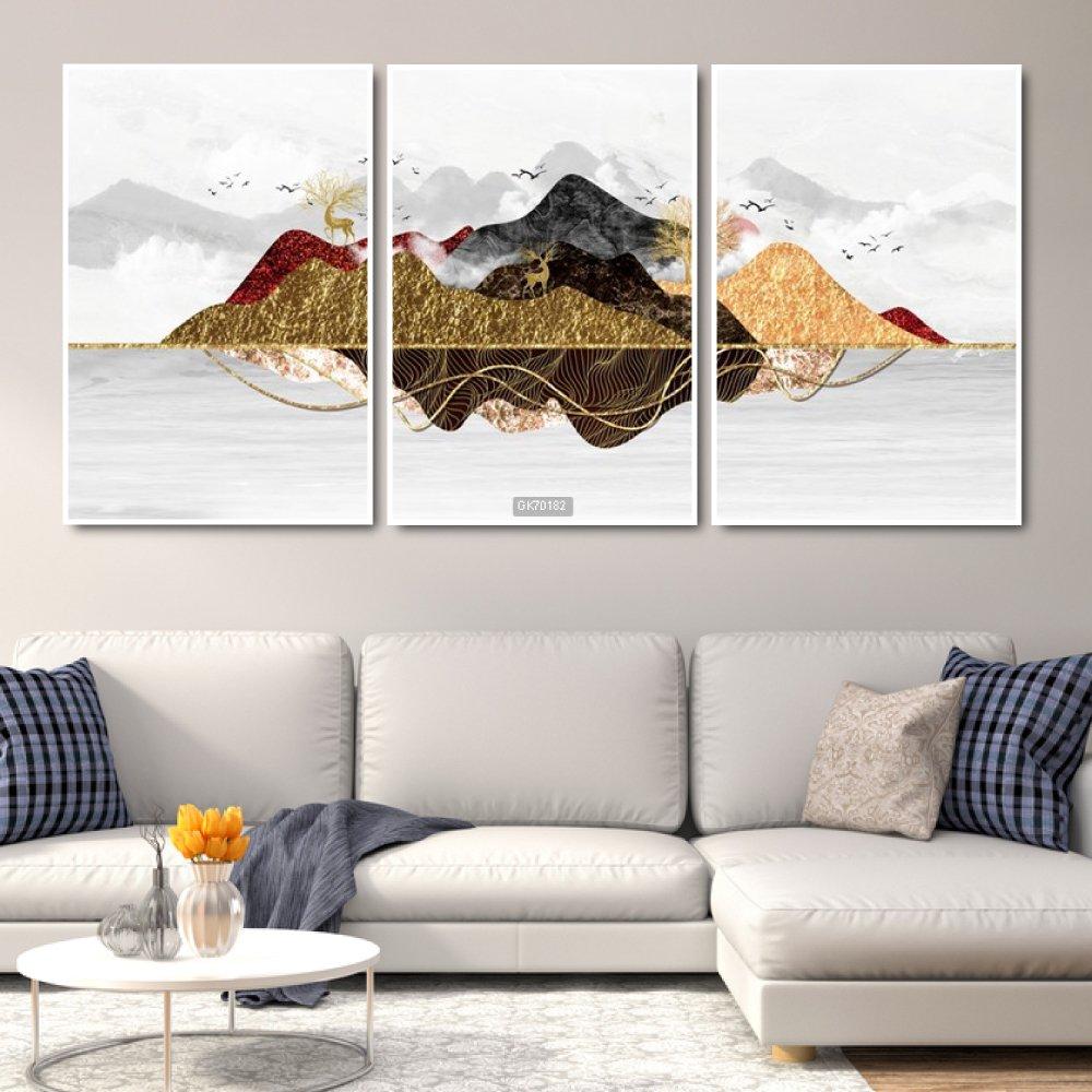 Tranh Canvas Treo Tường Núi Non Trùng Điệp 2