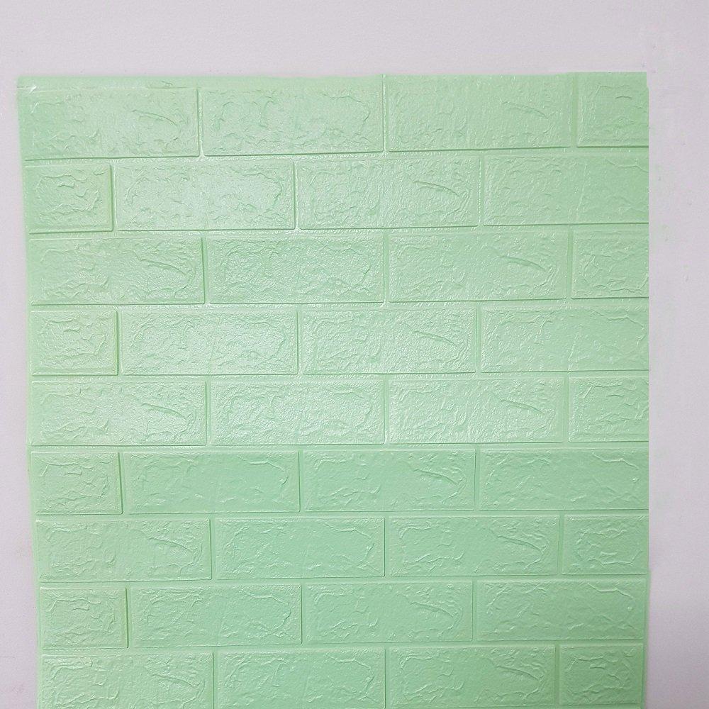 Xốp Đá Dán Tường Giá Rẻ Màu Xanh Lam