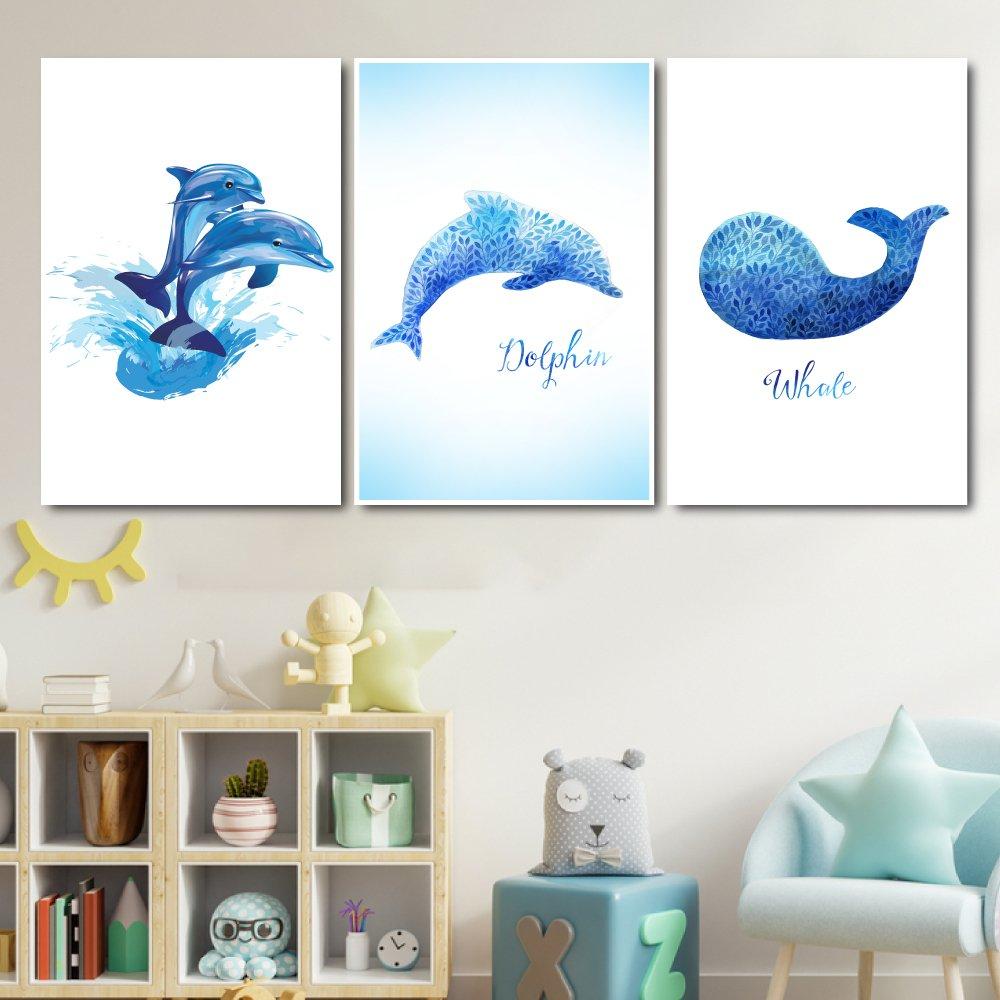 Tranh treo tường những chú cá heo