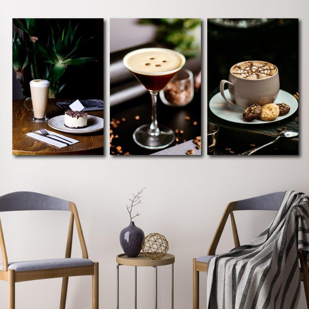 Tranh treo tường coffee capuchino