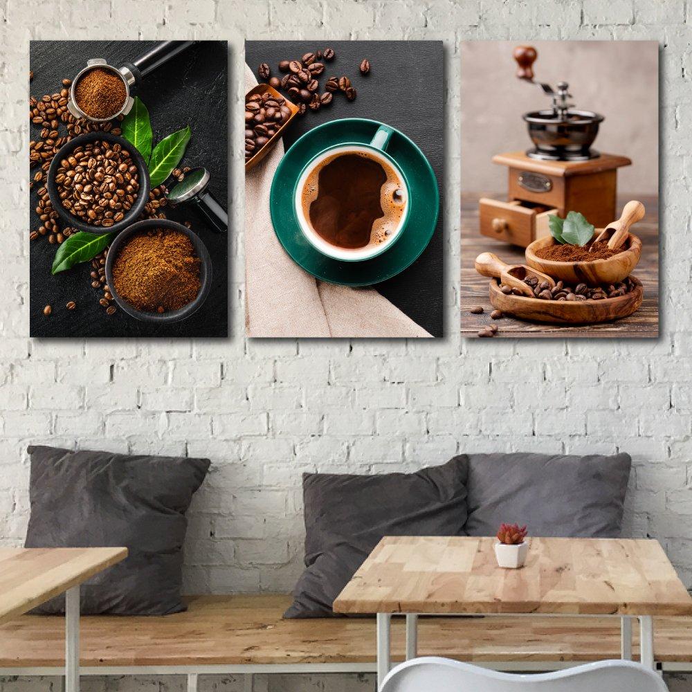 Tranh treo tường hạt cà phê