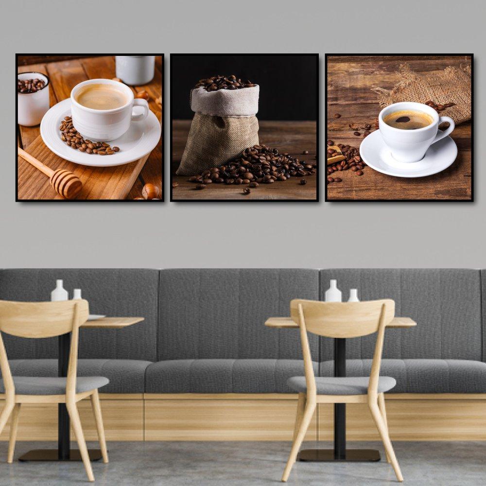 Tranh treo tường ly coffee