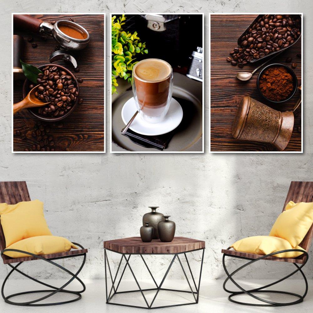 Tranh treo tường những hạt cà phê