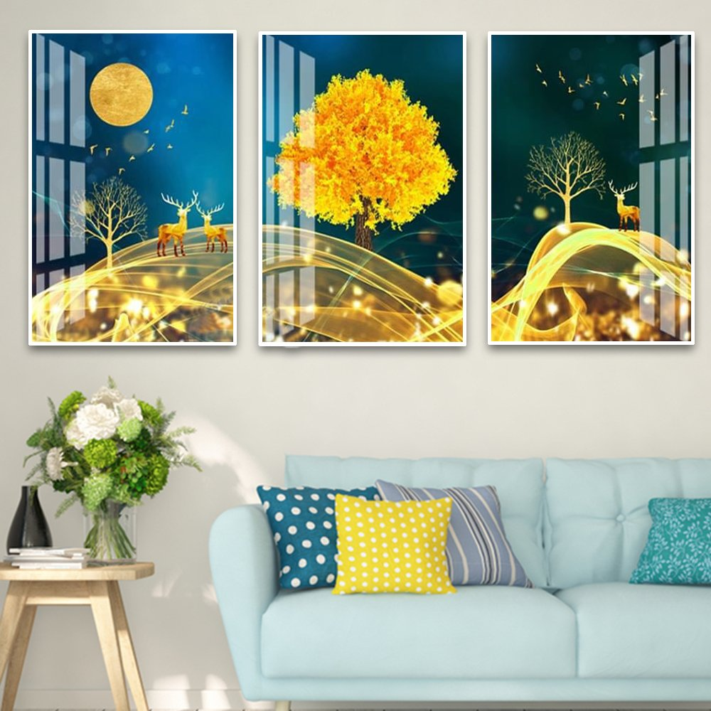 Tranh treo tường nghệ thuật bầu trời đêm