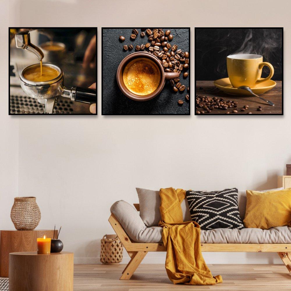 Tranh treo tường ly coffee nóng