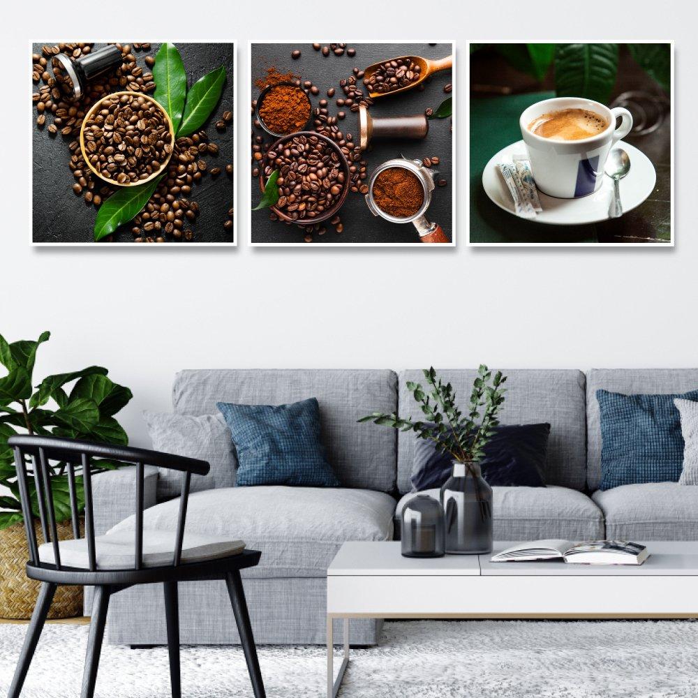 Tranh treo tường những hạt coffee