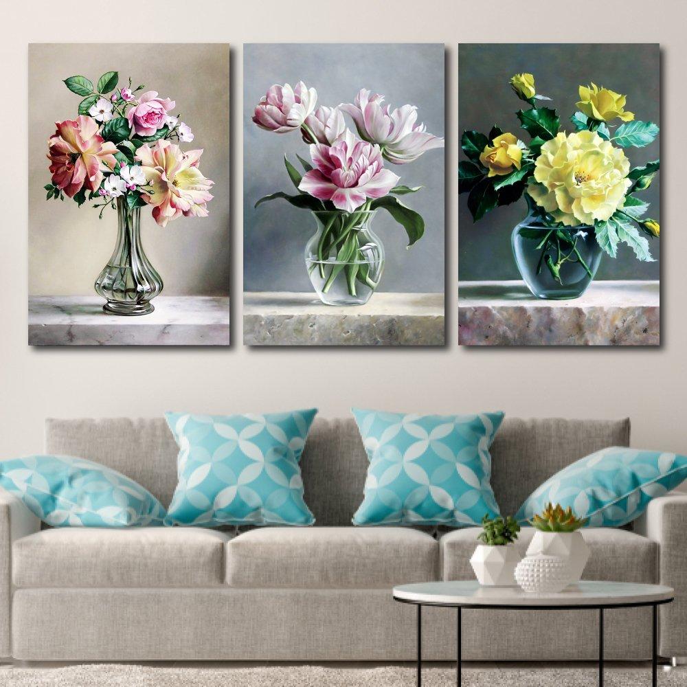 Tranh treo tường hoa đa sắc