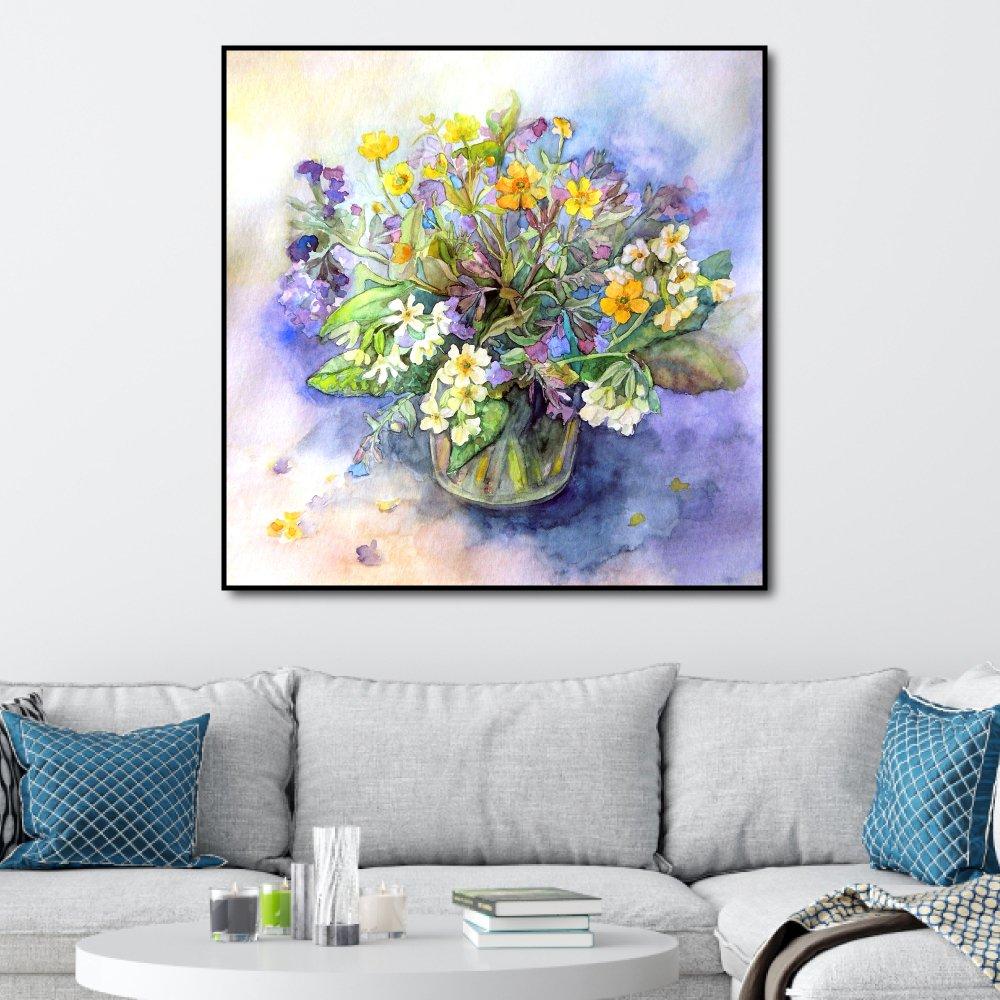 Tranh treo tường lọ hoa sắc màu