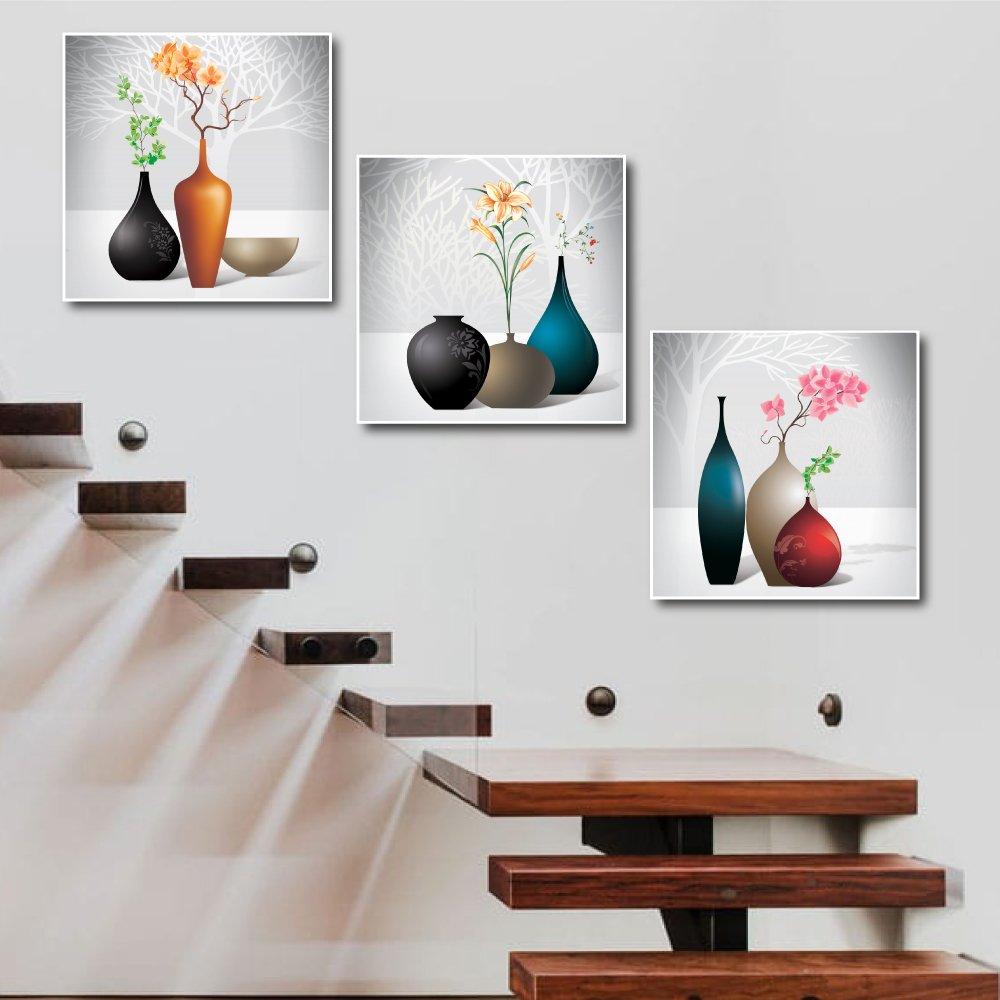 Tranh treo tường chậu hoa