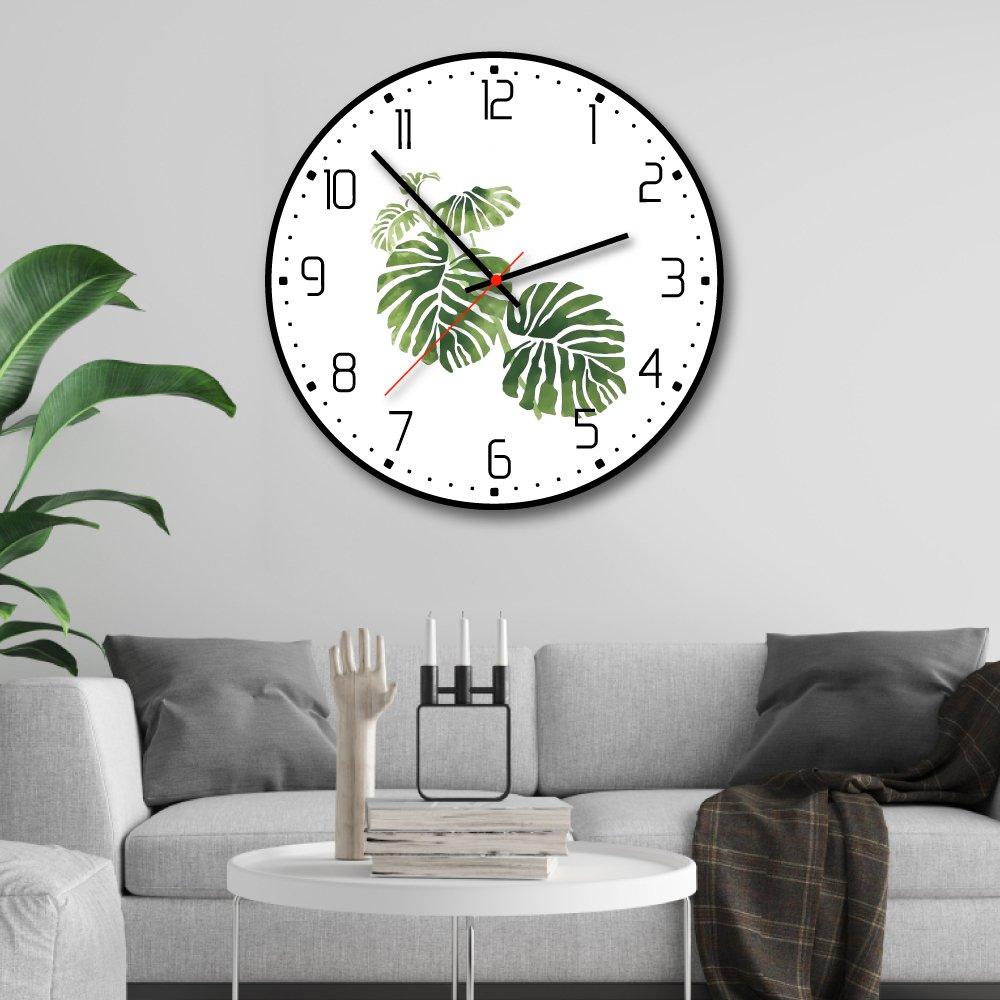 Đồng hồ vintage lá xanh nhiệt đới