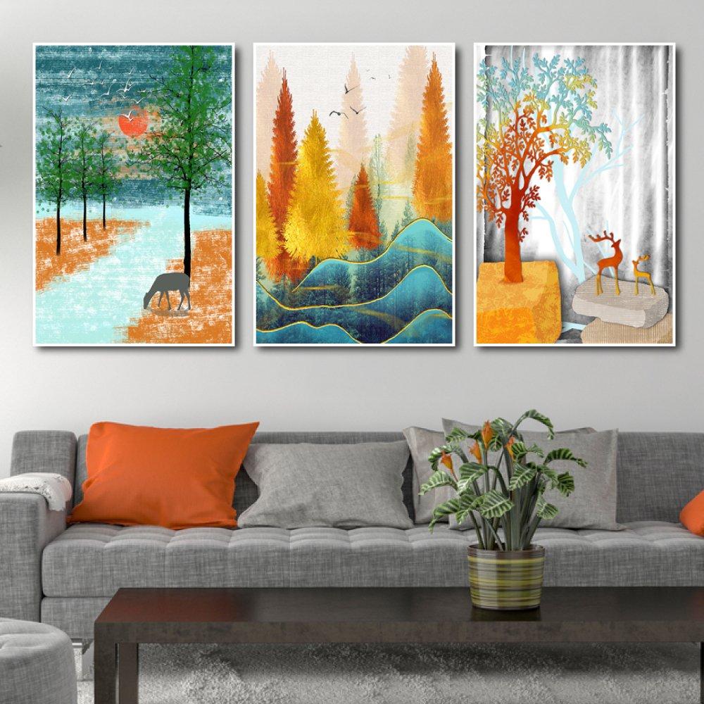 Tranh treo tường cảnh rừng nghệ thuật