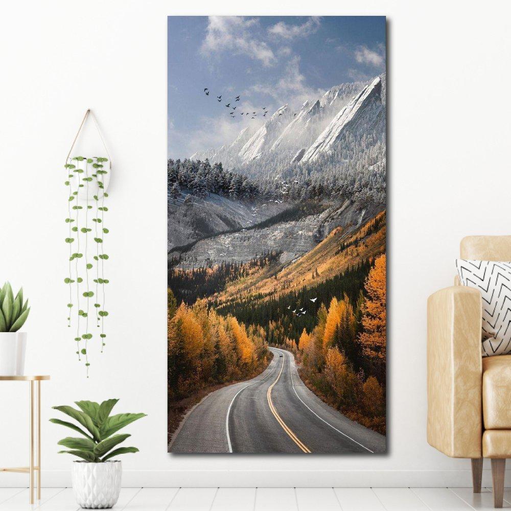 Tranh treo tường phong cảnh núi rừng
