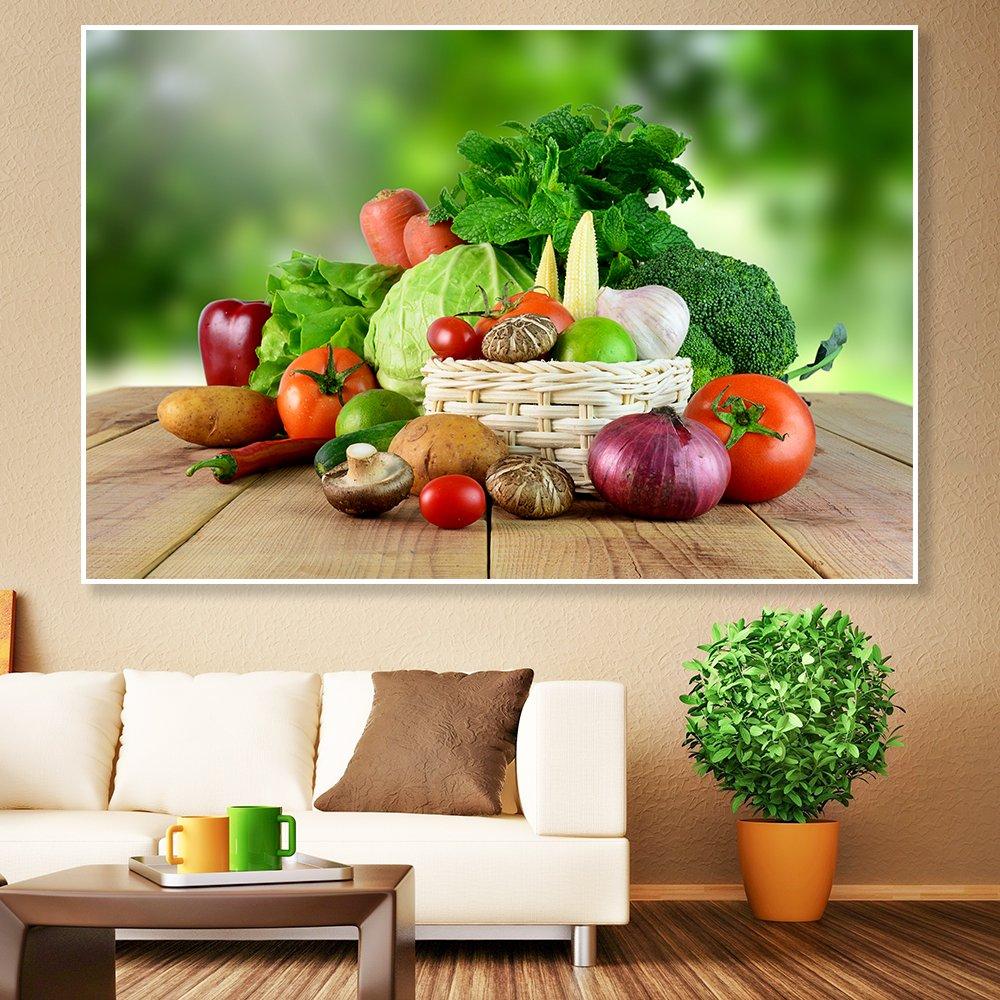 Tranh treo tường rau củ quả