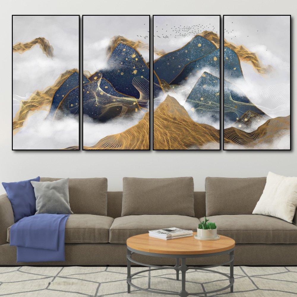 Tranh treo tường núi nghệ thuật