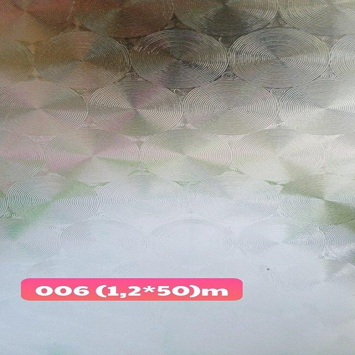 Decal cuộn kính mờ hoa văn tròn khổ 1.2m