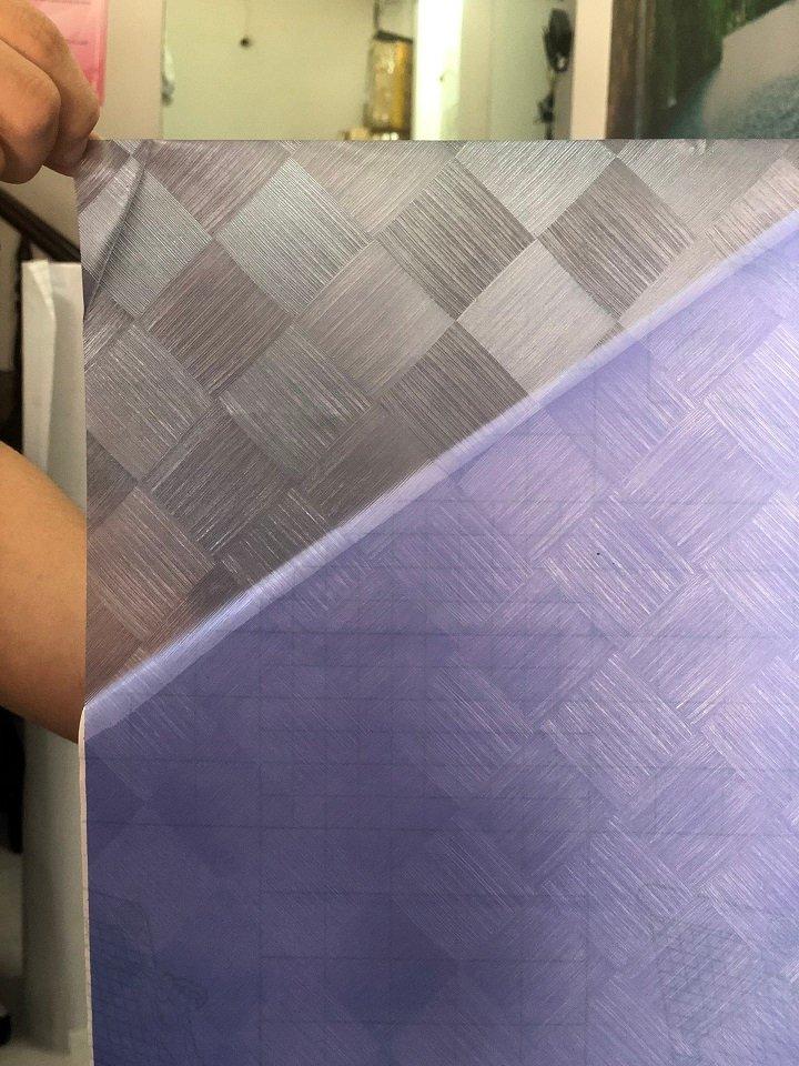 Decal Cuộn Kính Mờ Sọc Hoa Văn Khổ 1.2m