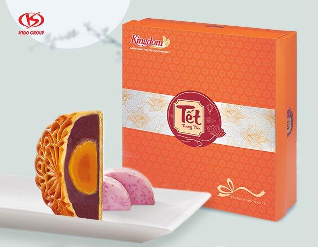 Combo Bánh Trung Thu 4 Vị 2 Trứng