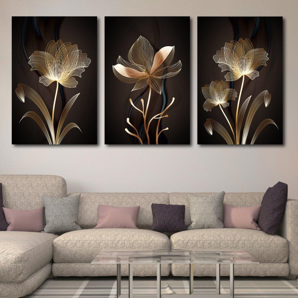 Tranh treo tường hoa vàng nghệ thuật