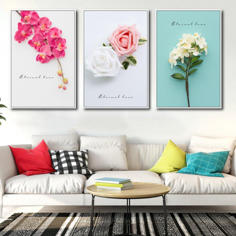 Tranh treo tường các loài hoa 3 (HG)