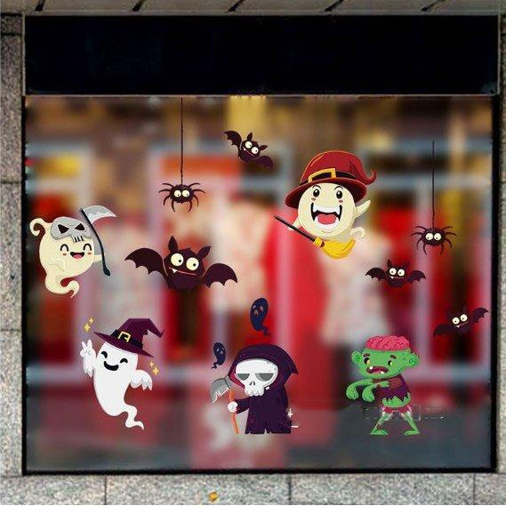 Decal dán tường trang trí lễ hội halloween