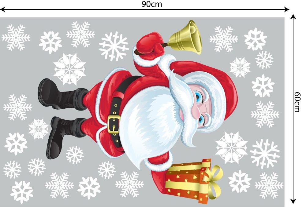Decal trang trí combo Merry christmas 2021