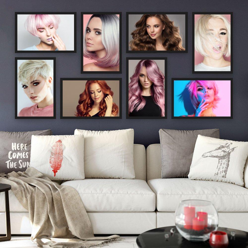 Bộ khung ảnh 8 tấm vẻ đẹp phụ nữ