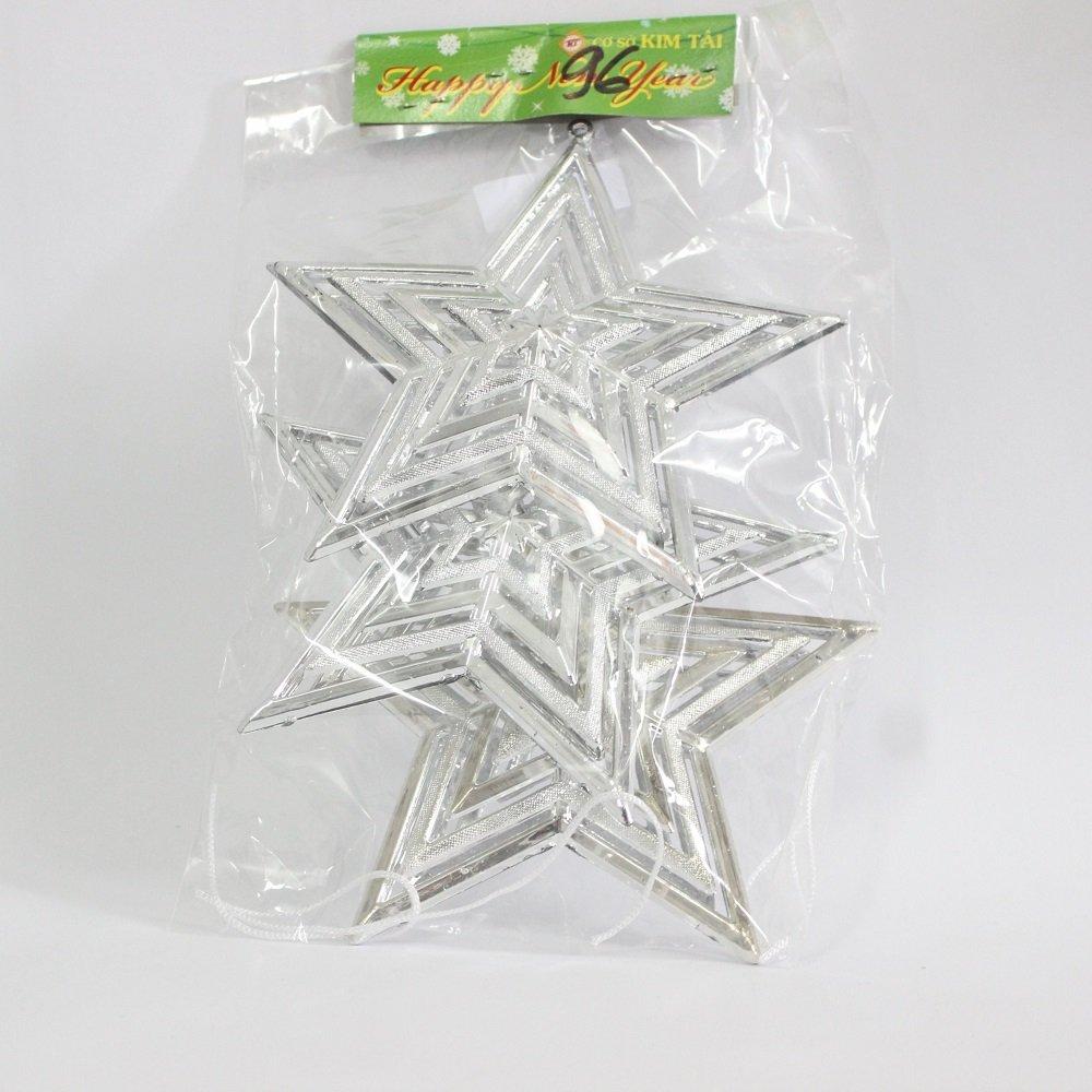 Đồ trang trí noel ngôi sao treo 2
