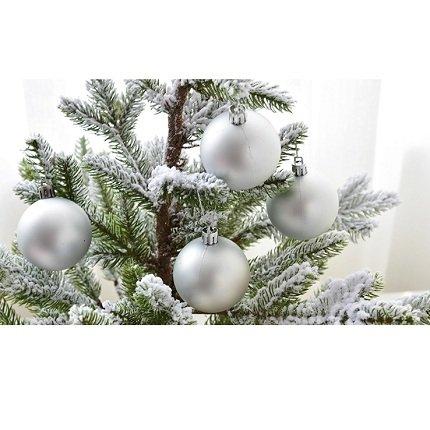 Đồ Trang Trí Noel Quả Châu Mờ