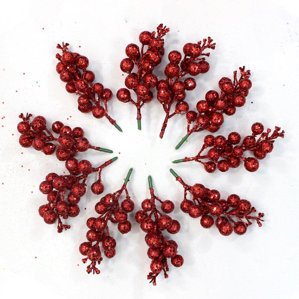 Đồ trang trí noel trái cherry treo trang trí