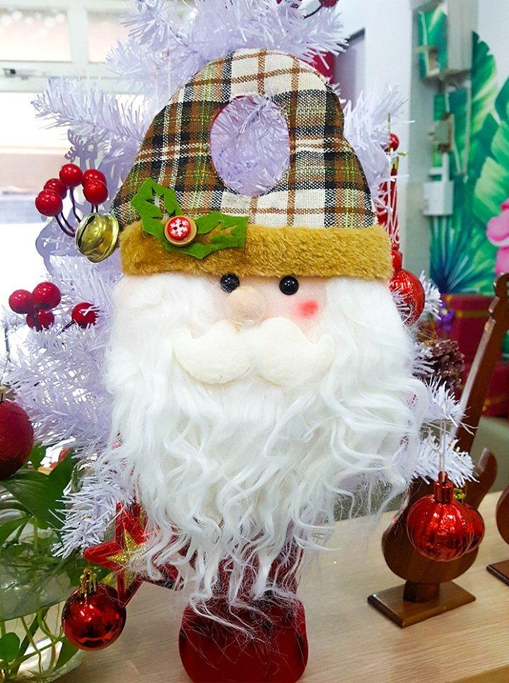 Đầu ông già trang trí Noel