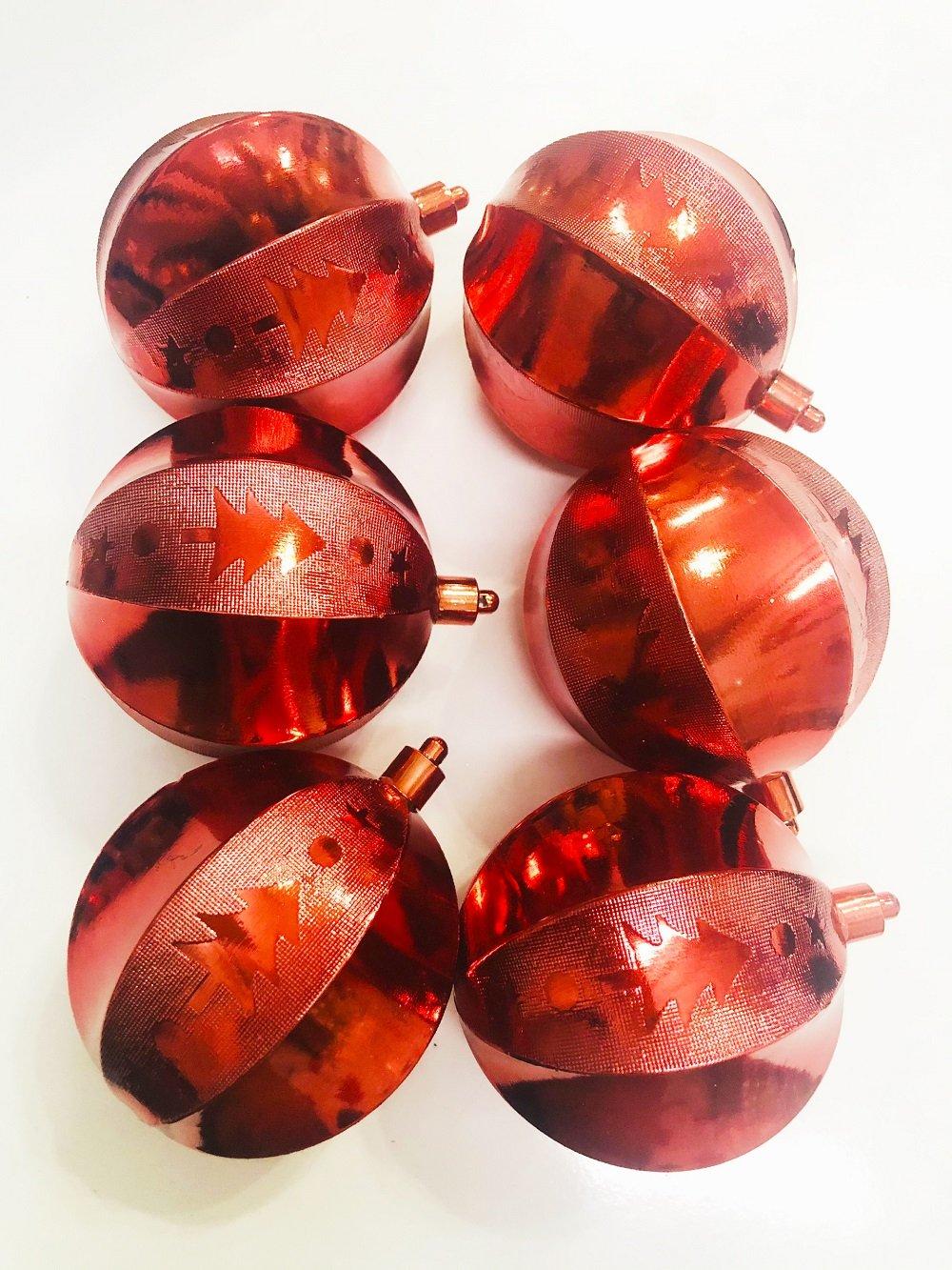 Set 6 quả châu khía trang trí Noel (61)